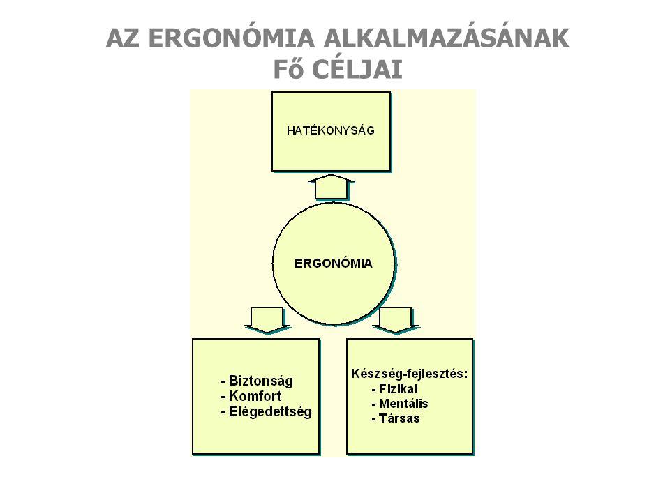  Előírások, szabványok: veszítenek a jelentőségükből  A megismerés ergonómiája: fontossá válik  Az együttműködés elengedhetetlen: a partnerekkel, pl.