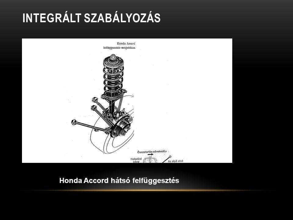 INTEGRÁLT SZABÁLYOZÁS Honda Accord hátsó felfüggesztés