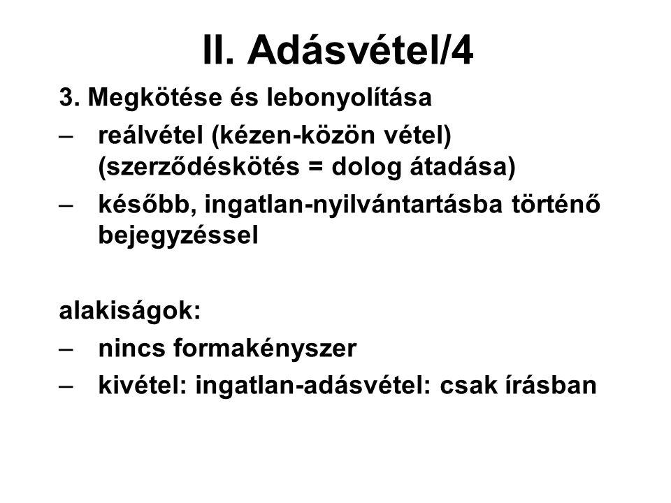 II. Adásvétel/4 3.