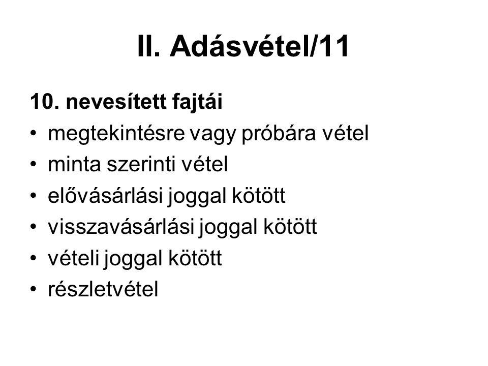 II. Adásvétel/11 10.