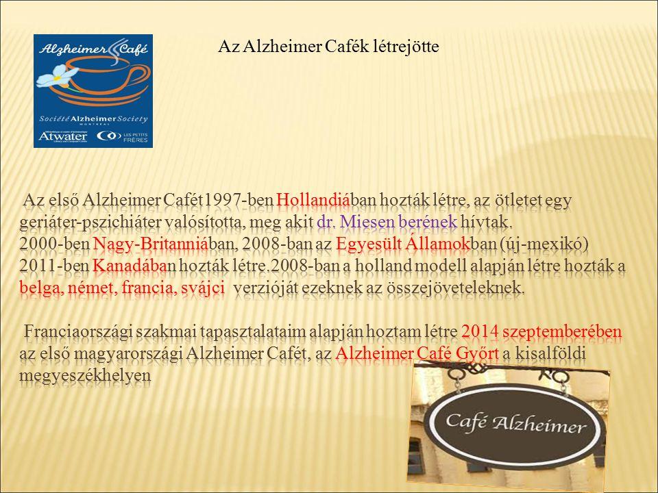 Az Alzheimer Cafék létrejötte