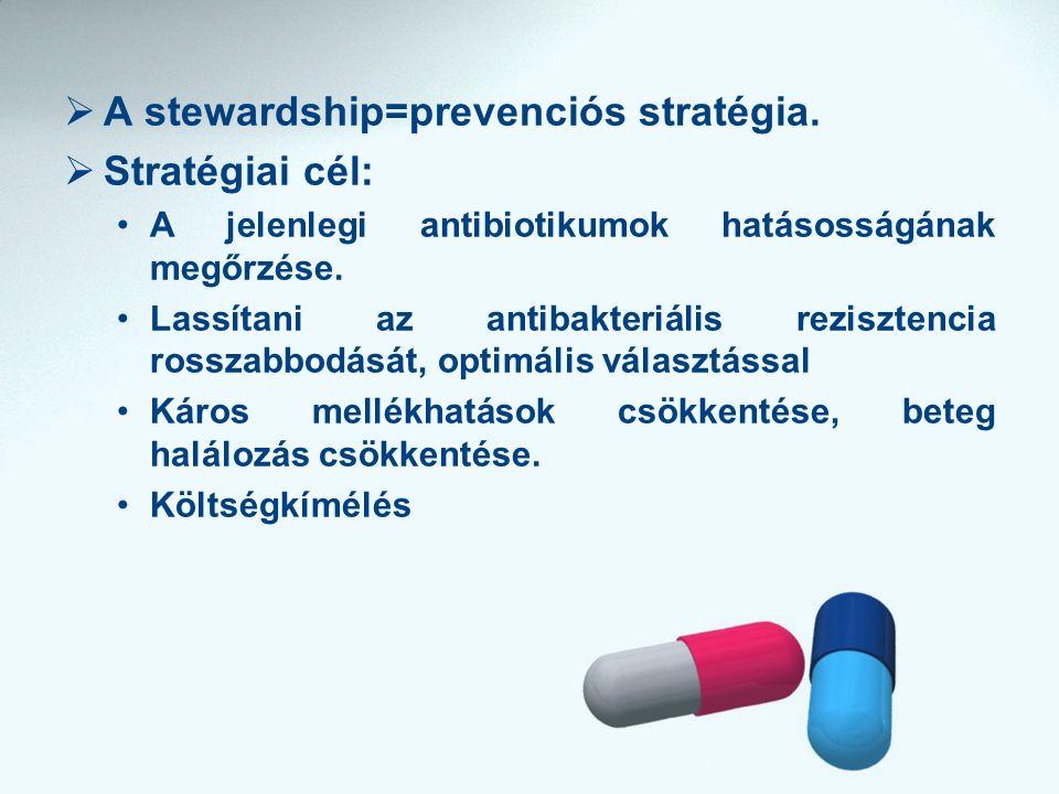  A stewardship=prevenciós stratégia.