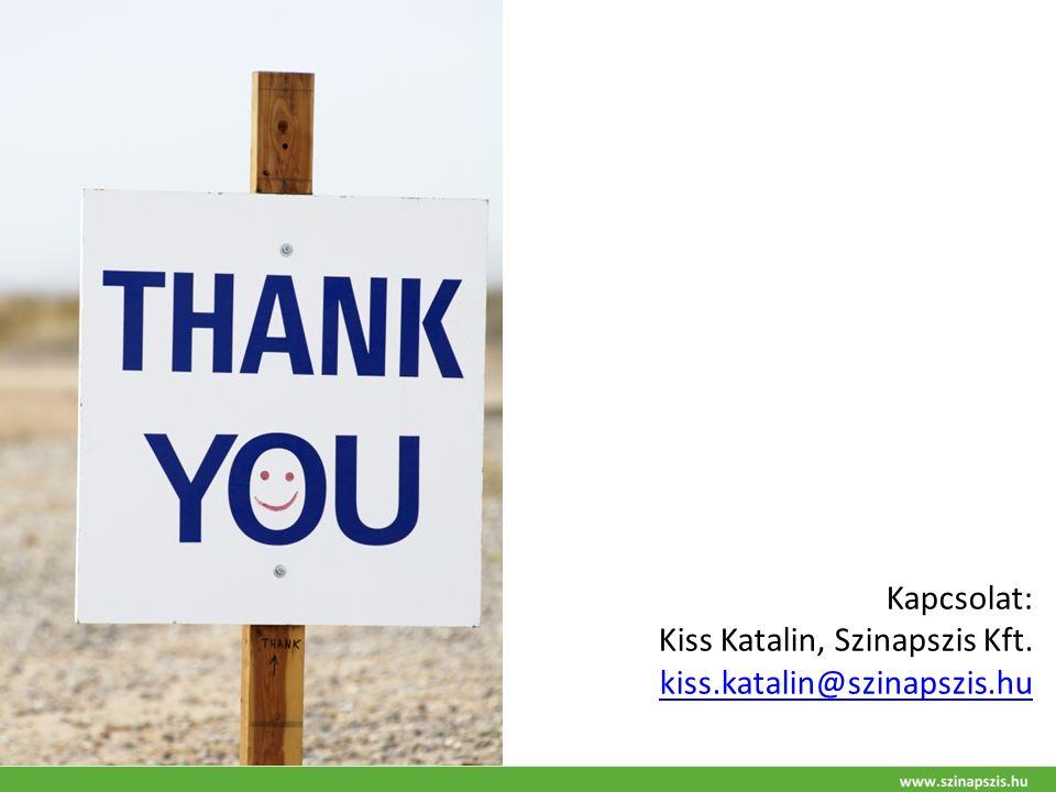 Kapcsolat: Kiss Katalin, Szinapszis Kft. kiss.katalin@szinapszis.hu