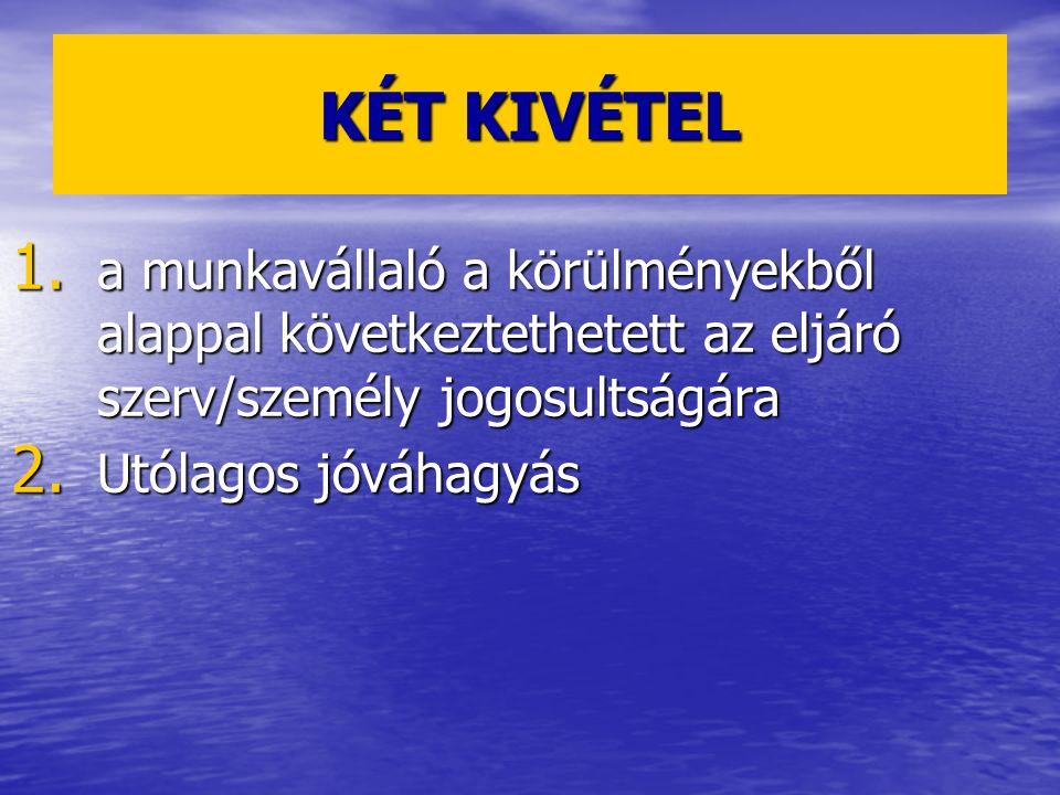 KÉT KIVÉTEL 1.