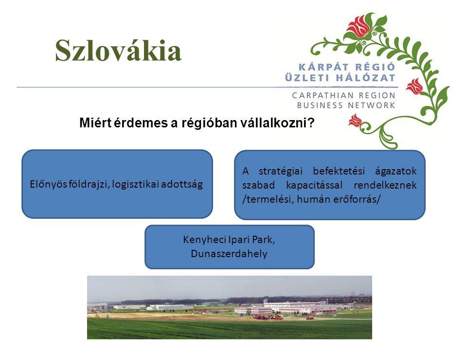 Szlovákia Milyen előnyöket nyújt a régió a magyar befektetők számára.