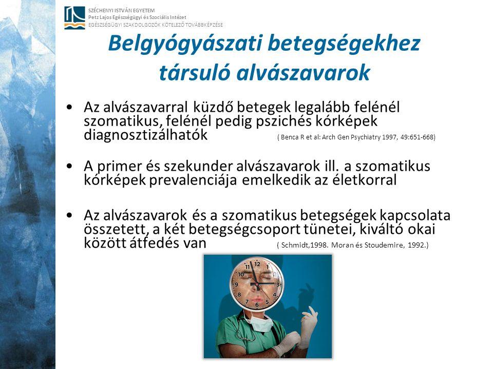 SZÉCHENYI ISTVÁN EGYETEM Petz Lajos Egészségügyi és Szociális Intézet EGÉSZSÉGÜGYI SZAKDOLGOZÓK KÖTELEZŐ TOVÁBBKÉPZÉSE Belgyógyászati betegségekhez tá