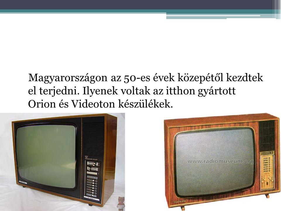 Magyarországon az 50-es évek közepétől kezdtek el terjedni.