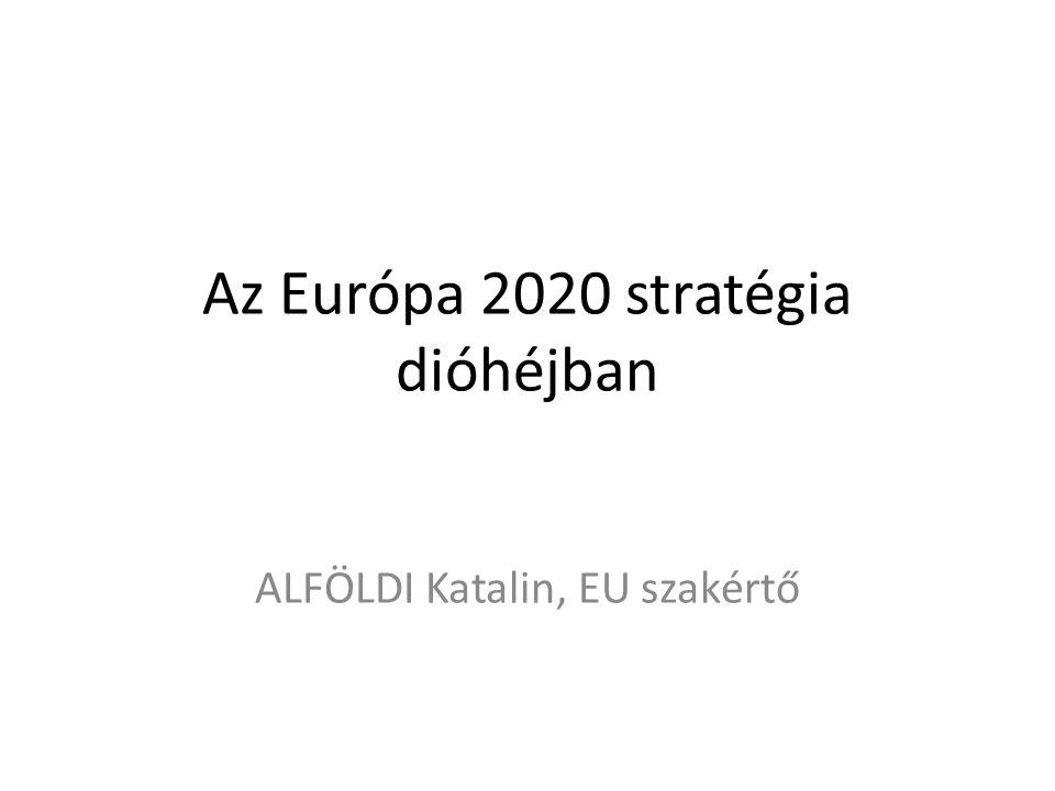 Az Európa 2020 stratégia dióhéjban ALFÖLDI Katalin, EU szakértő