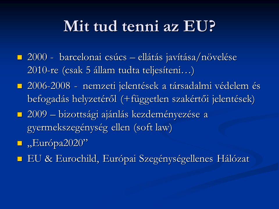 Mit tud tenni az EU.