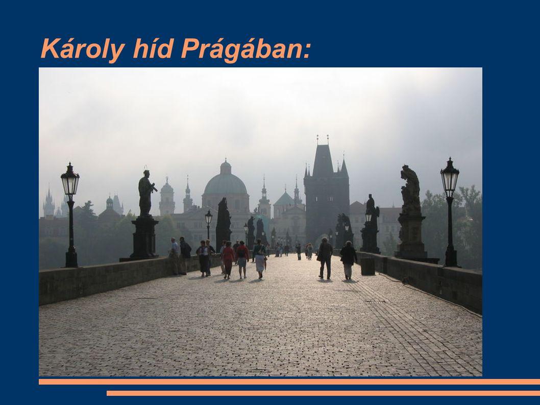 Károly híd Prágában: