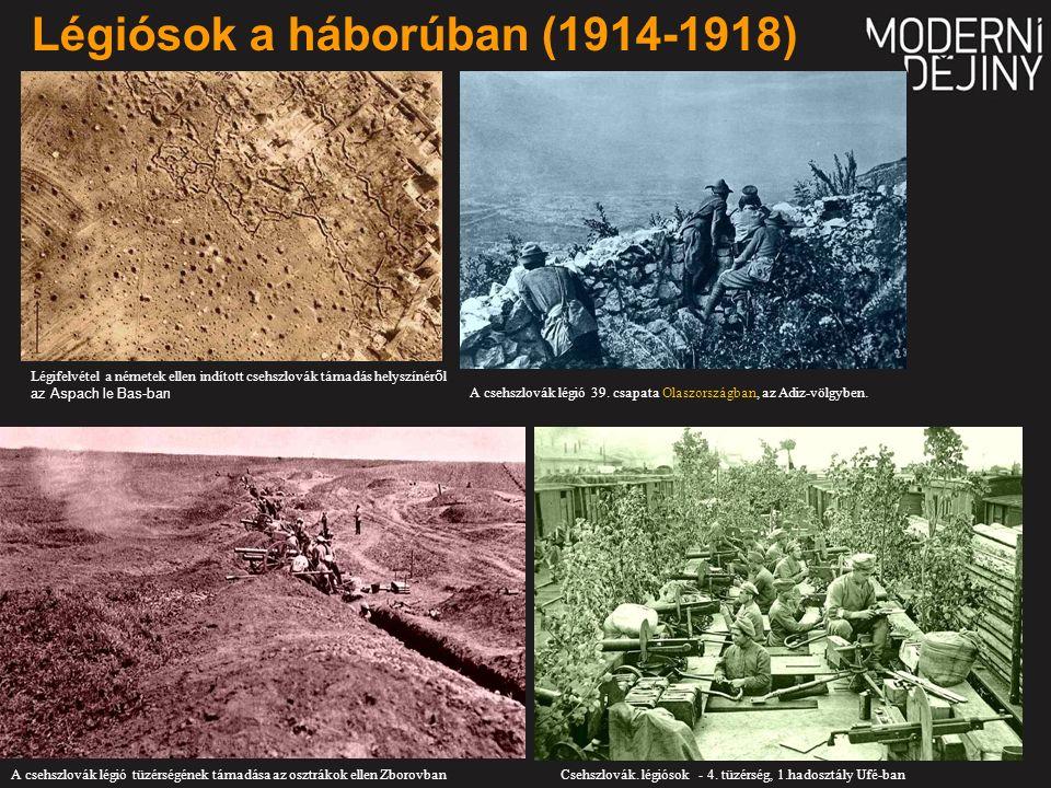 Légiósok a háborúban (1914-1918) Csehszlovák. légiósok - 4.