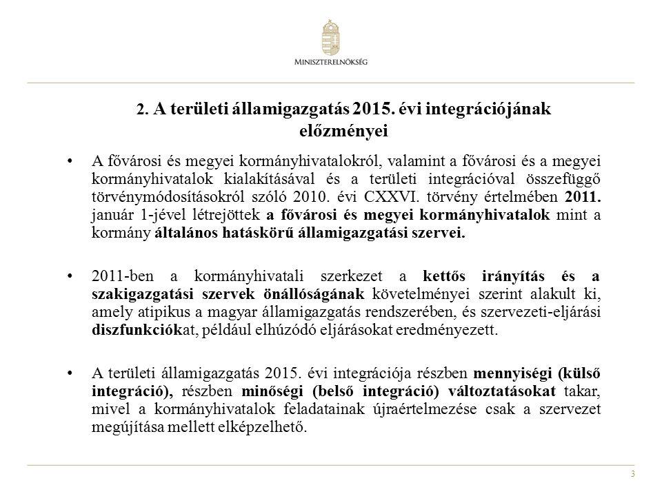 3 2. A területi államigazgatás 2015.