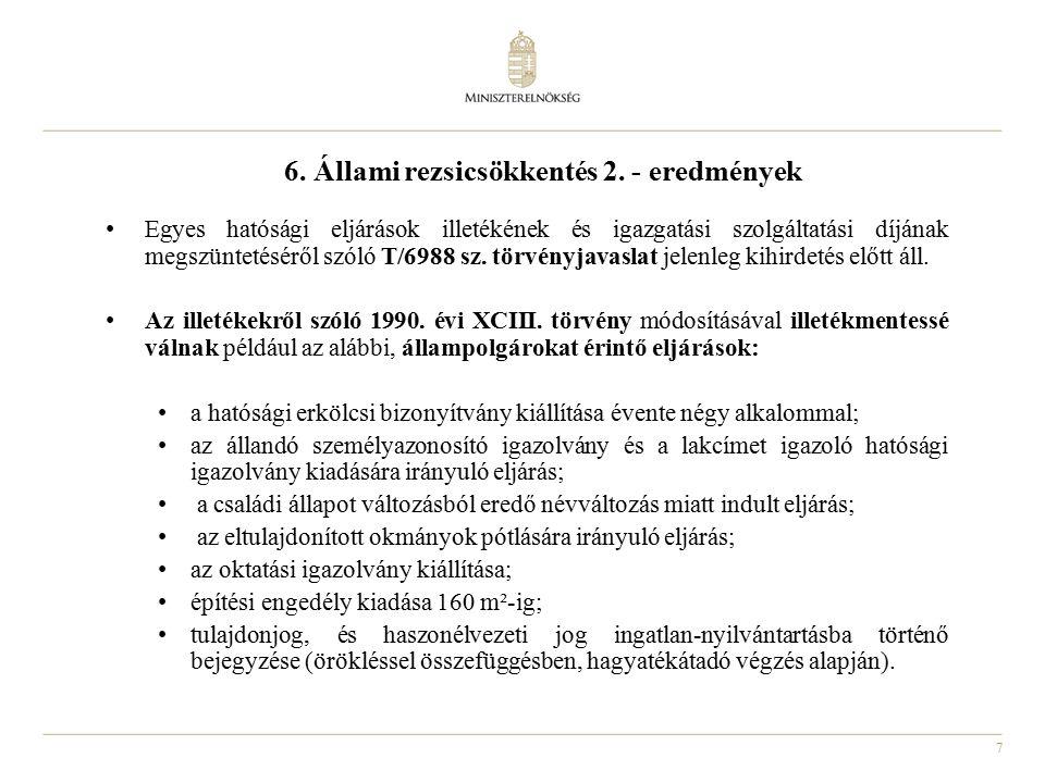 7 6. Állami rezsicsökkentés 2.