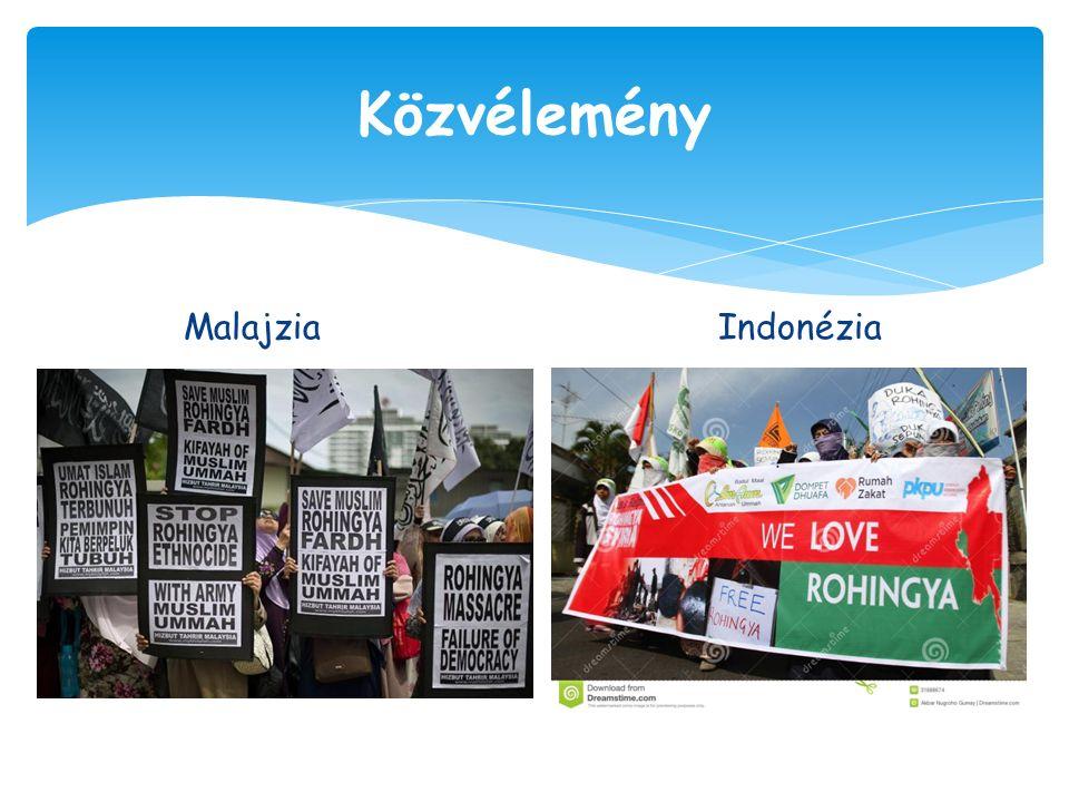 Malajzia Indonézia Közvélemény