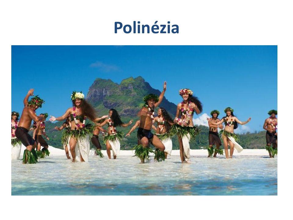 Polinézia Mintegy 1000 szigetből áll Polinézek lakják 2 óceáni kőzetlemez találkozásánál fekszik  földrengés,vulkanizmus  cunami