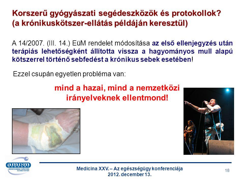 Medicina XXV. – Az egészségügy konferenciája 2012.