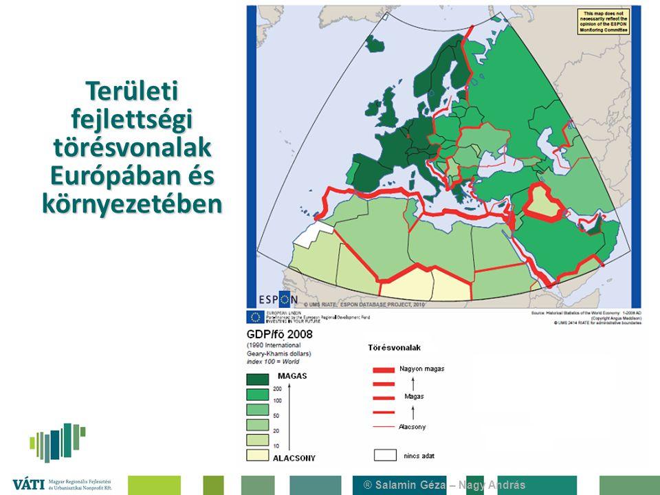 ® Salamin Géza – Nagy András Területi fejlettségi törésvonalak Európában és környezetében