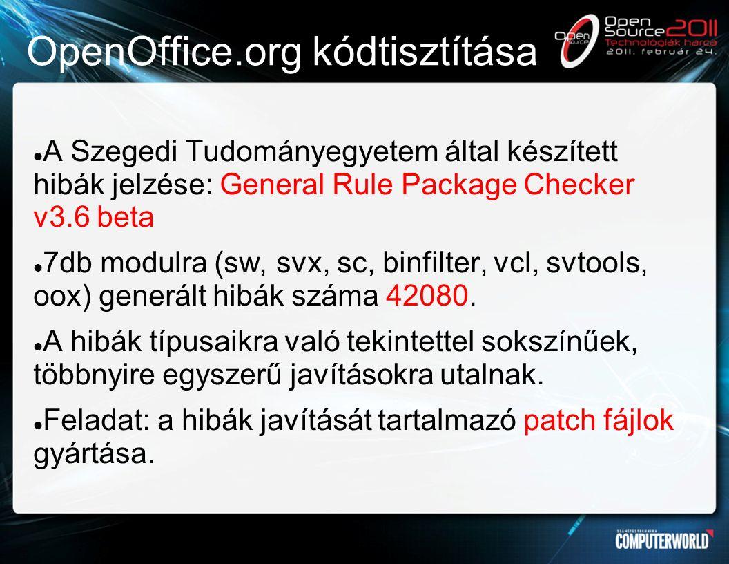 EuroOffice 2010 Kódjavításainkat beépítettük az EuroOffice 2010 irodai programcsomag forráskódjába.
