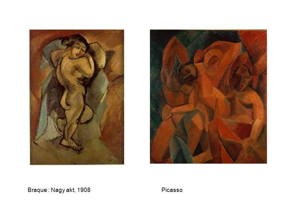 Braque : Nagy akt, 1908Picasso