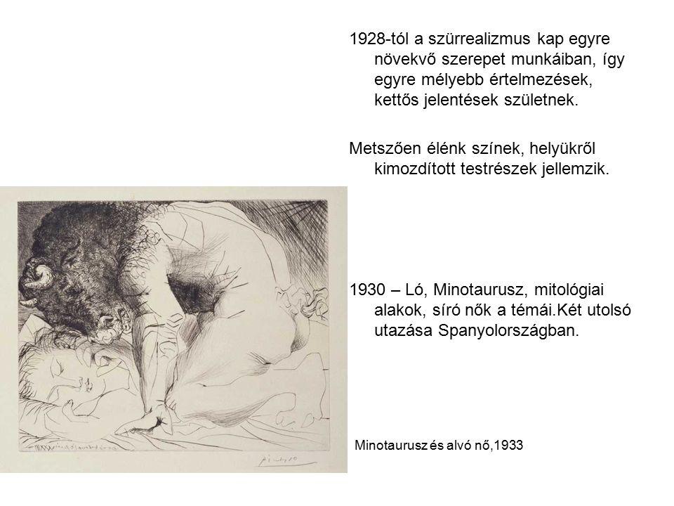 1928-tól a szürrealizmus kap egyre növekvő szerepet munkáiban, így egyre mélyebb értelmezések, kettős jelentések születnek.