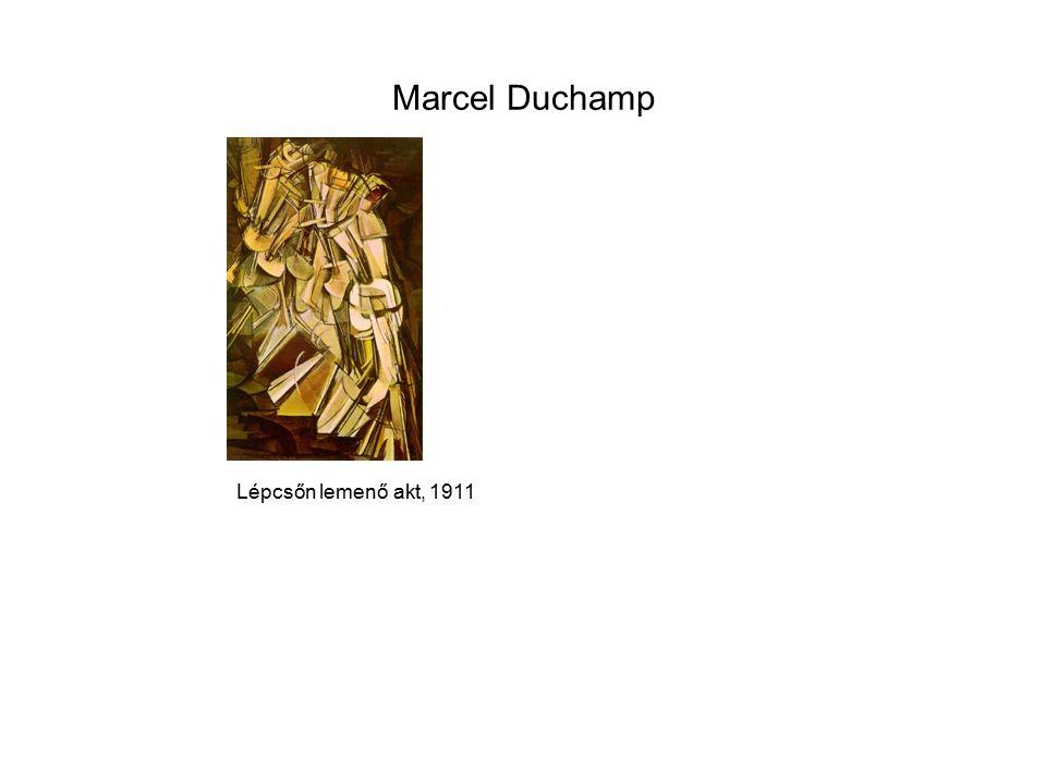 Marcel Duchamp Lépcsőn lemenő akt, 1911
