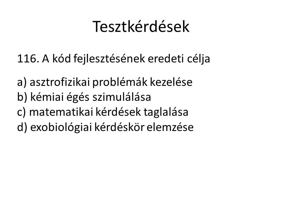 Tesztkérdések 116.