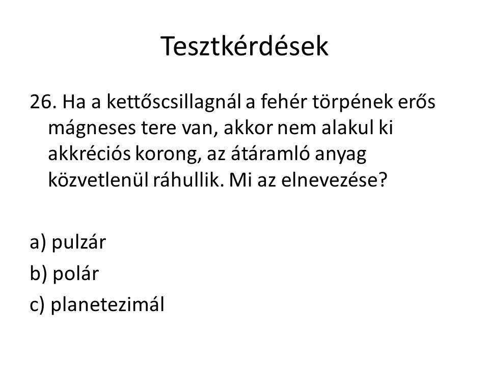 Tesztkérdések 26.
