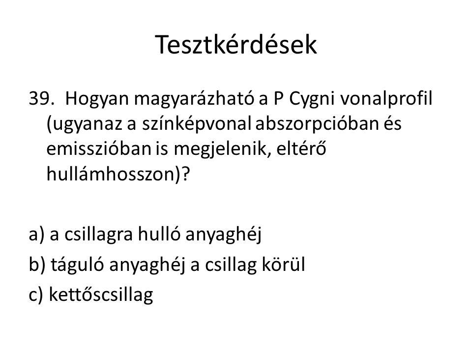 Tesztkérdések 39.