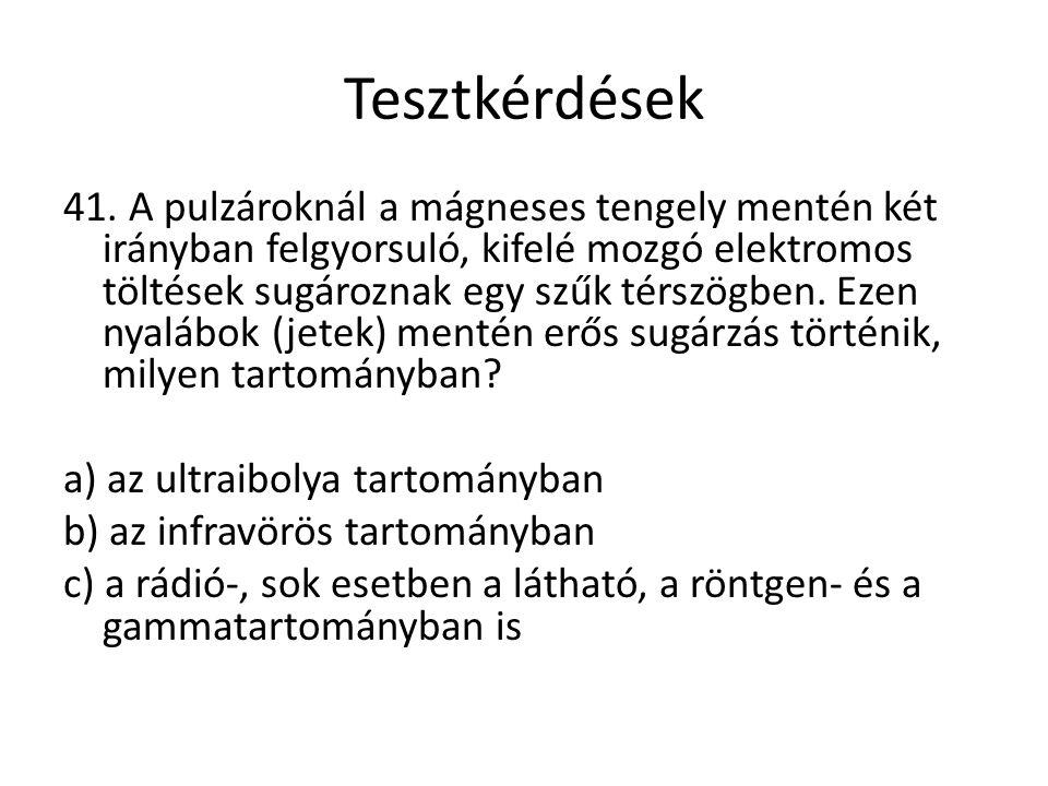 Tesztkérdések 41.