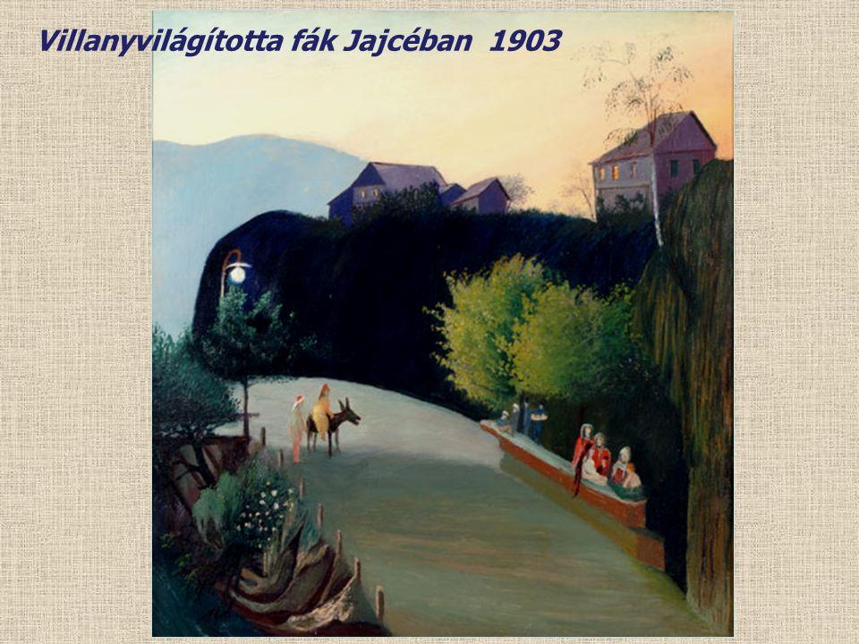 Jajce-i villanyerőmű éjjel 1903
