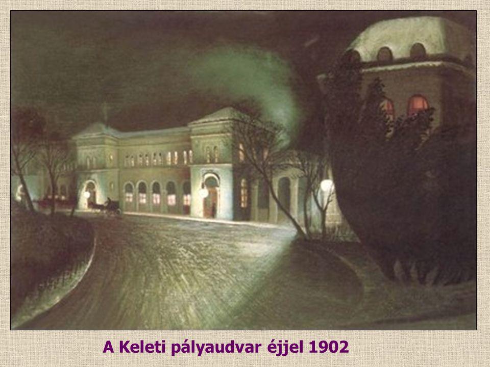 Vihar a Hortobágyon 1903