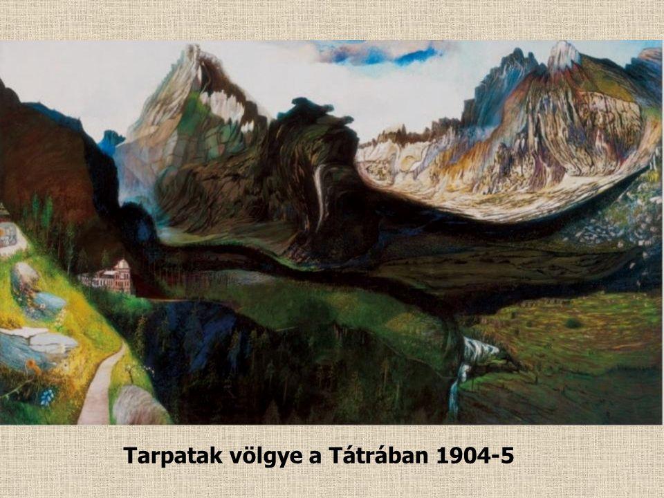 Selmecbánya látképe 1902