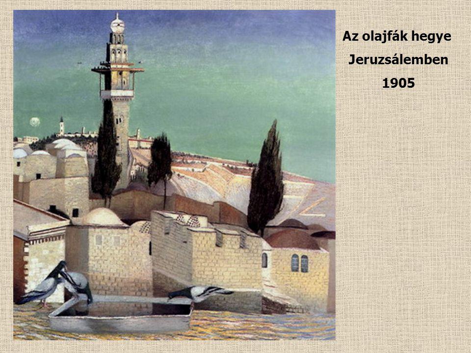Templomtéri kilátás a Holt-tengerre Jeruzsálemben 1905