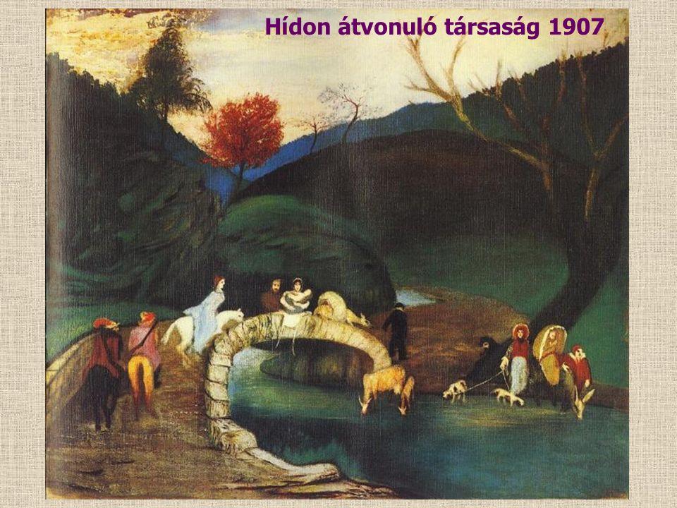 Zarándoklás a cédrusfánál 1907