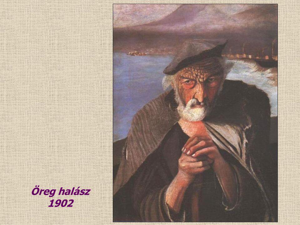 1901 Világító éj Castellammaréban 1901 Halászat Castellamareban 1901
