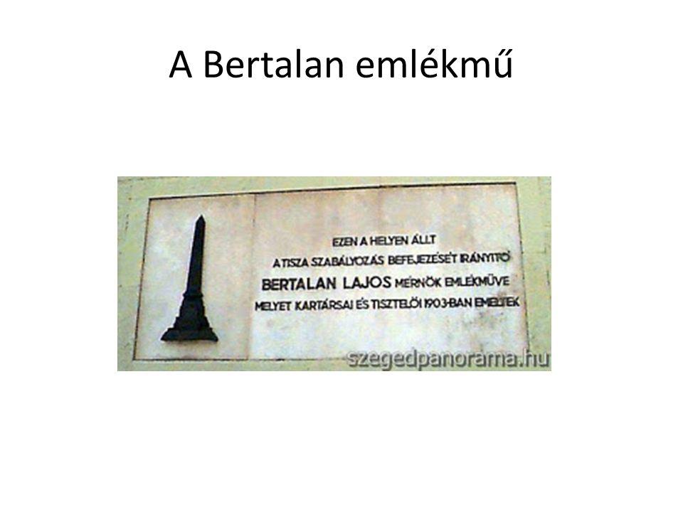 A Bertalan emlékmű