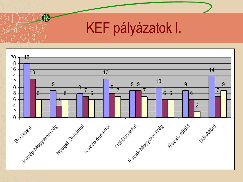KEF pályázatok I.