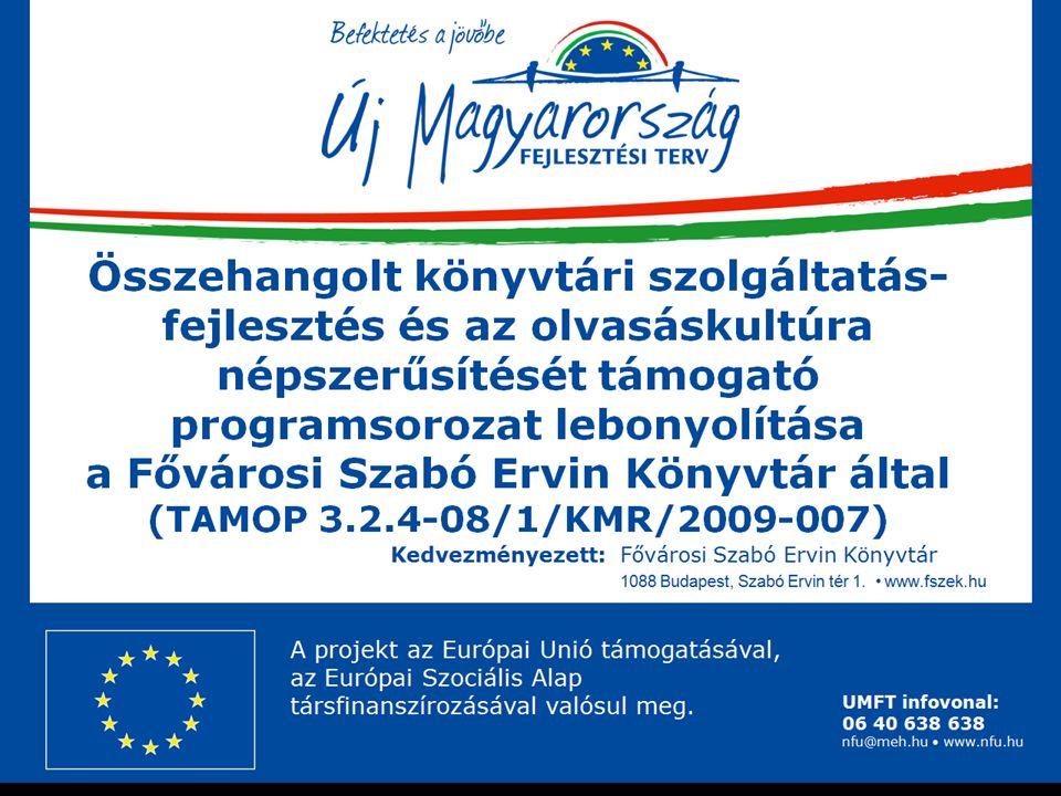 Intézményi együttműködés NIIF nyertes pályázatai TIOP-1.3.2-08/-2009-0001 és KMOP-4.2.1/A_2-2009-0001 A Magyar Kutatási és Felsőoktatási Föderációhoz (EduID) csatlakoztunk – a föderáció tagjai hitelesíthetik saját hallgatóikat és munkatársaikat rendszerünkben.