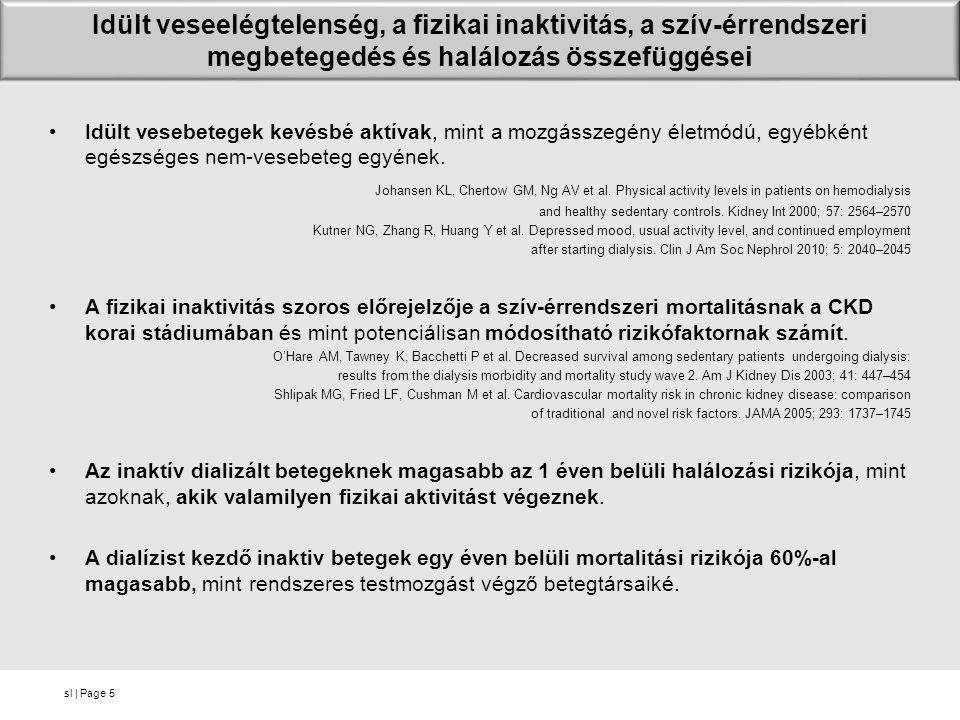 sl | Page CKD 3-4 betegek terhelési kapacitásának összehasonlítása egészséges kontrollokéhoz képest 16 Chr.