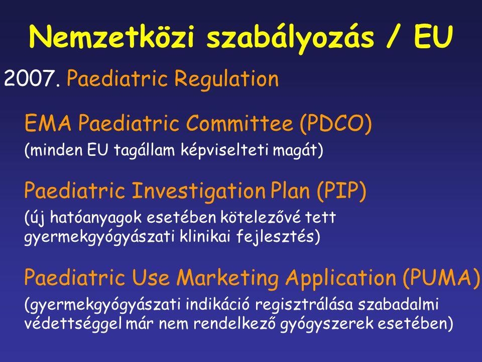 Nemzetközi szabályozás / EU 2007.