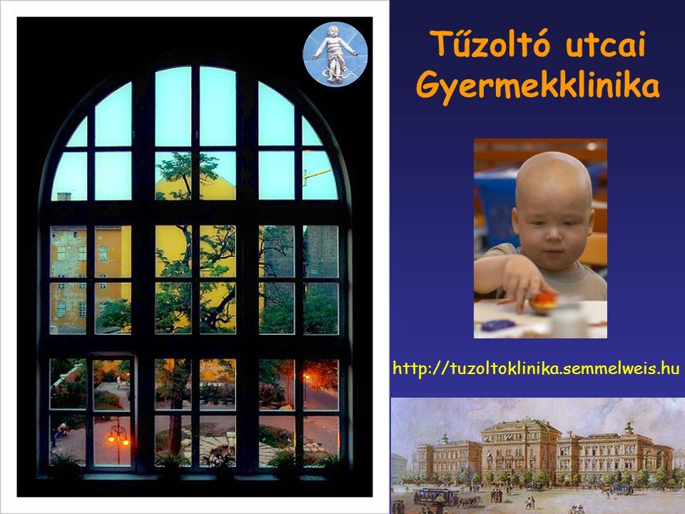 Tűzoltó utcai Gyermekklinika http://tuzoltoklinika.semmelweis.hu