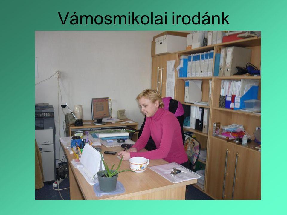 Vámosmikolai irodánk