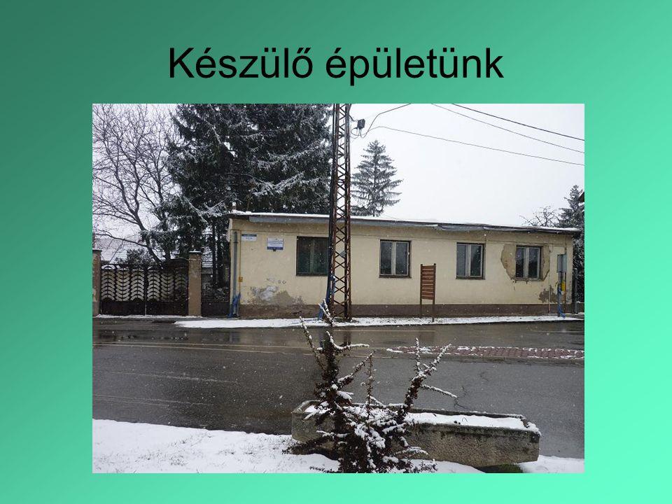 Készülő épületünk