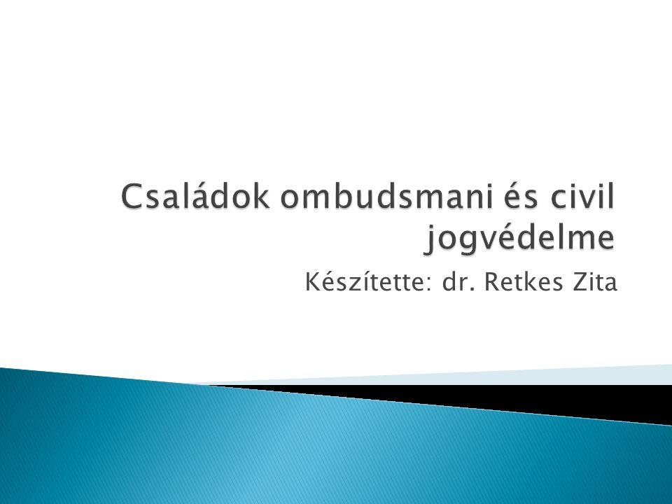 Készítette: dr. Retkes Zita