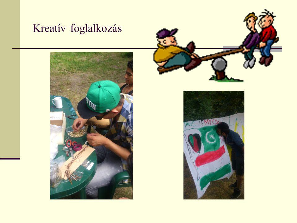 Kreatív foglalkozás