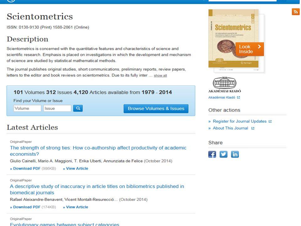 Történet, források (folyt.) Publish or perish – publikálj vagy pusztulj Prioritás kérdése: Semmelweis közlési gyakorlata Neurofibromatozis gén felfedezése F.