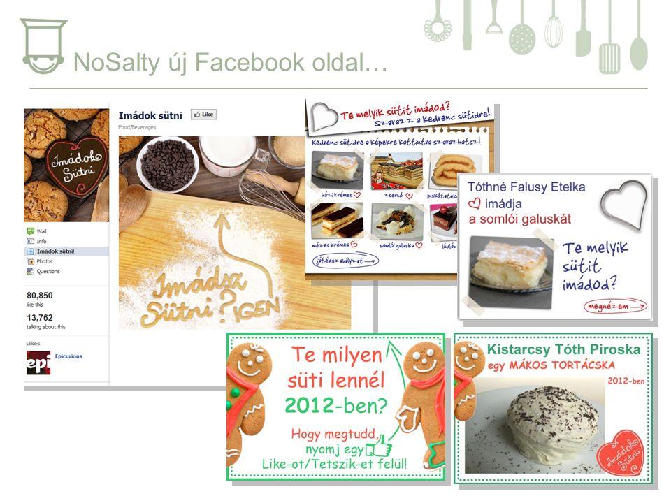 NoSalty új Facebook oldal…