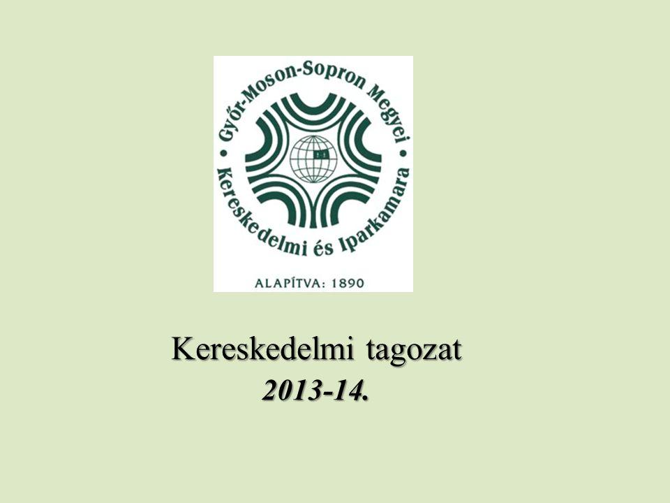 Kereskedelmi tagozat 2013-14.