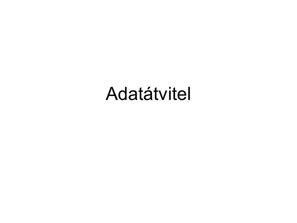 Adatátvitel