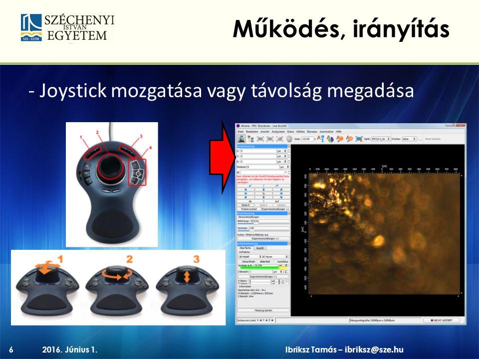 - profil 2016. Június 1.17 Példák Ibriksz Tamás – ibriksz@sze.hu ~66 µm